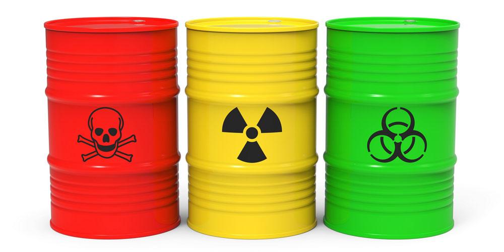 Dallas Junk Guys does not haul hazardous items